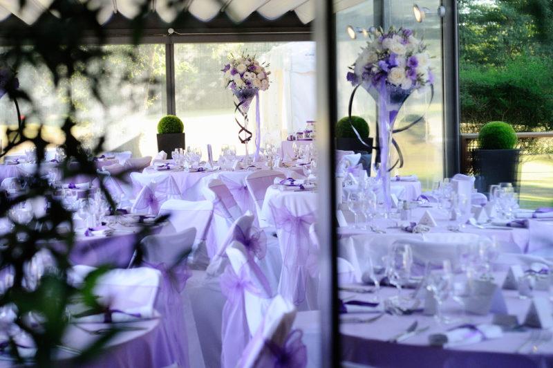 Mariage de 80 personnes <br> Salles Eagles & Pergola